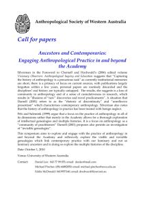 Engaging Anthropological Practice in and beyond the Academy