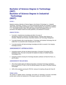Bachelor of Science Degree in Technology (BST)