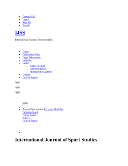 yavaridehkordi-ijss - International Journal of Sport Studies