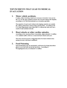 top incidents in medical evacuation