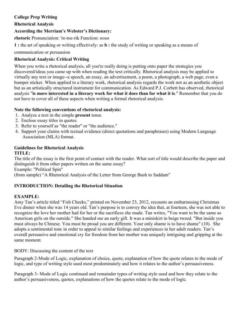 rhetorical analysis essay outline formal essay outline rhetorical slideshare essayessays rhetorical analysis essay format - Example Of A Rhetorical Essay