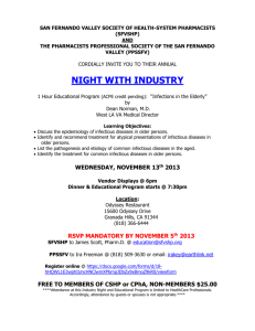 Night with Industry - San Fernando Valley Affiliate Website