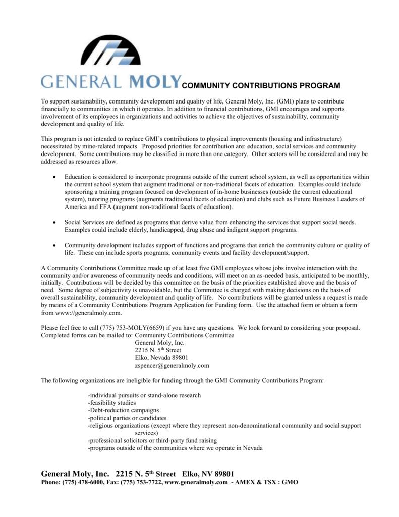 sports physical form nevada  Community Grant Form