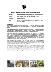 Murray Edwards College, University of Cambridge