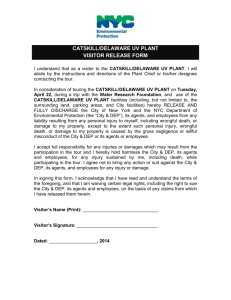 Visitor Release Form Cat-Del UV