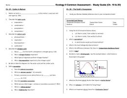 terrestrial biomes webquest rh studylib net terrestrial biomes homework and study guide answers Aquatic Biome
