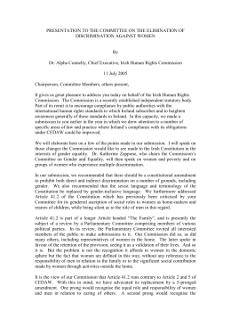 Publication in doc format - Irish Human Rights & Equality Commission