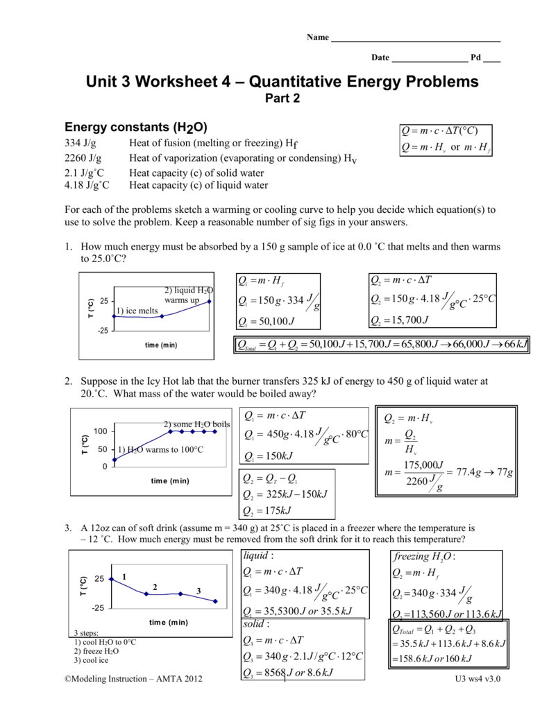 Ws 4 Quantitative Energy 2 Key