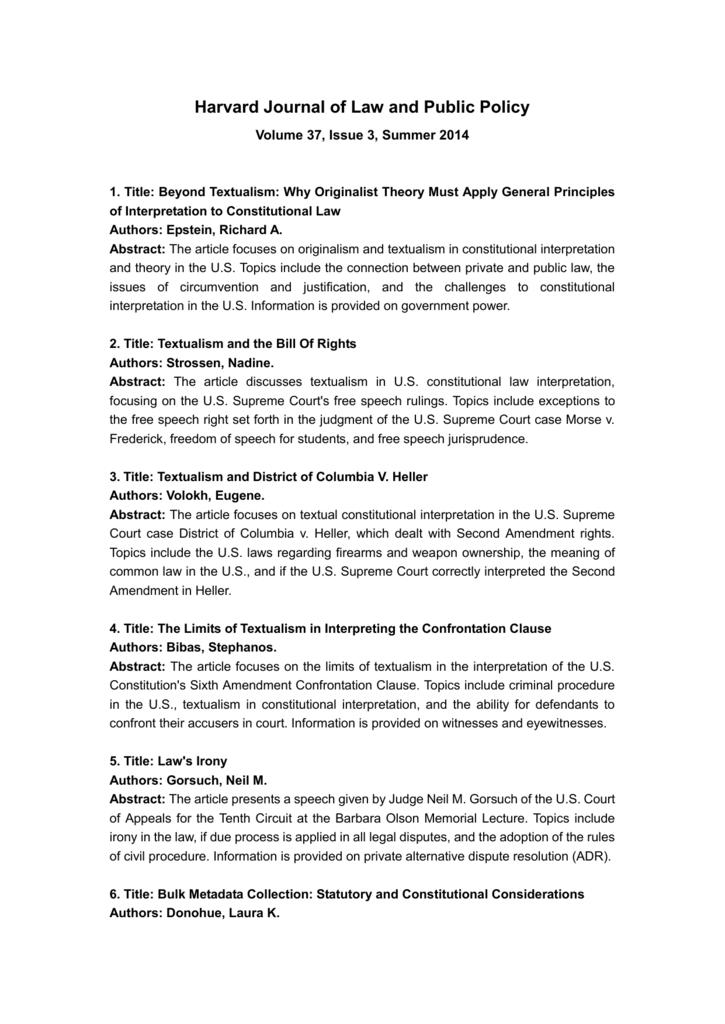 constitution speech topics