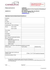 department of international trade promotion importer list