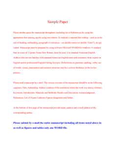 Samples preparation and pH adjustment ( Author note: This is