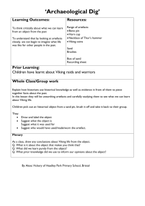 `Artefacts Pursuit`