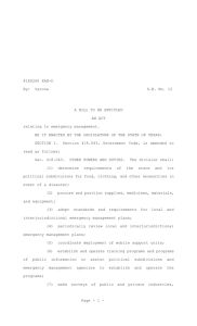 81R5260 EAH-D - Texas Legislature Online