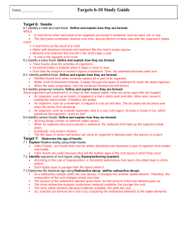 Learing Targets 6 - 10 Study Guide ANSWER KEY