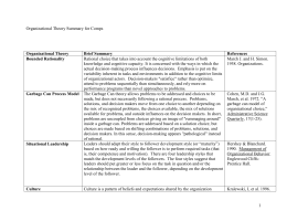 Organizational Theory Comps_Summary_Table Form