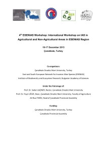 International Workshop on IAS in Agricultural and Non