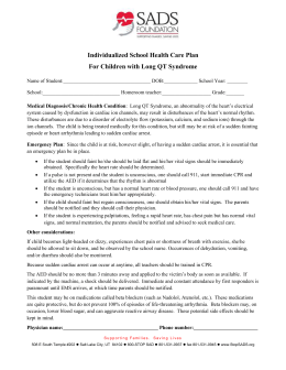 Individualized School Health Care Plan