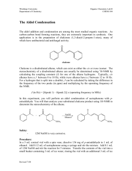 an experiment on the bromination of an alkene Stilbene bromination  the process that you will be running in this experiment uses ethanol, which is less toxic than most halogenated solvents,.