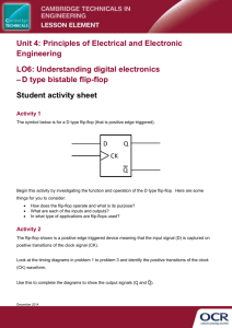 Cambridge Technicals in Engineering DType Lesson Element