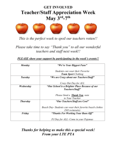 2010 Teacher Appreciation Flyer