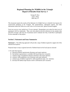 Section III. List of Respondents