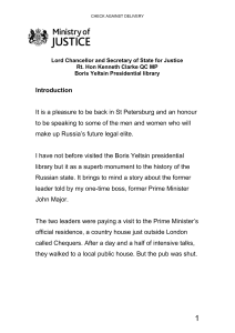 Rule of law speech delivered by the Lord Chancellor and Secretary