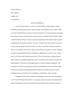 Research Paper - Valdosta State University