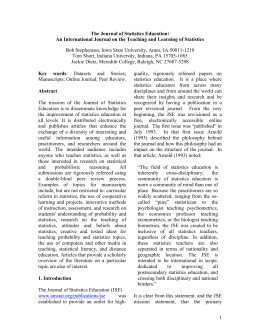 An International Journal on the Teaching and Learning of