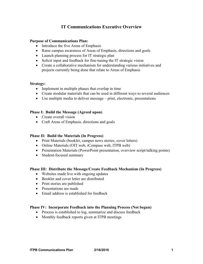 September 2002 - Information Technology Planning Board
