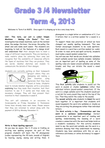 term 4 newsletter - Morang South Primary School