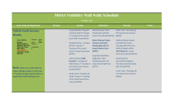 MHAS Visibility Wall Walk Schedule Version 7.04 Colour Code and
