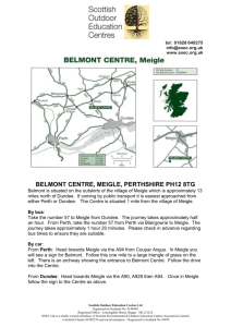 Belmont - Scottish Outdoor Education Centres