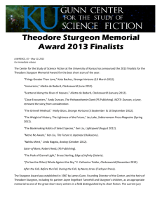 Theodore Sturgeon Memorial Award
