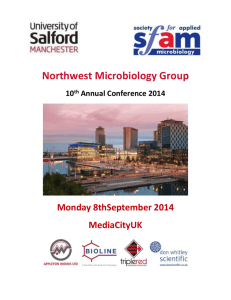 northwest microbiology 2014 conference programme