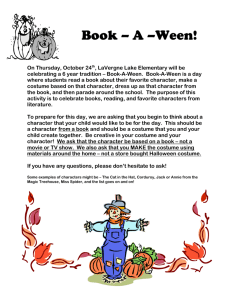 Book – A –Ween! On Thursday, October 24th, LaVergne Lake