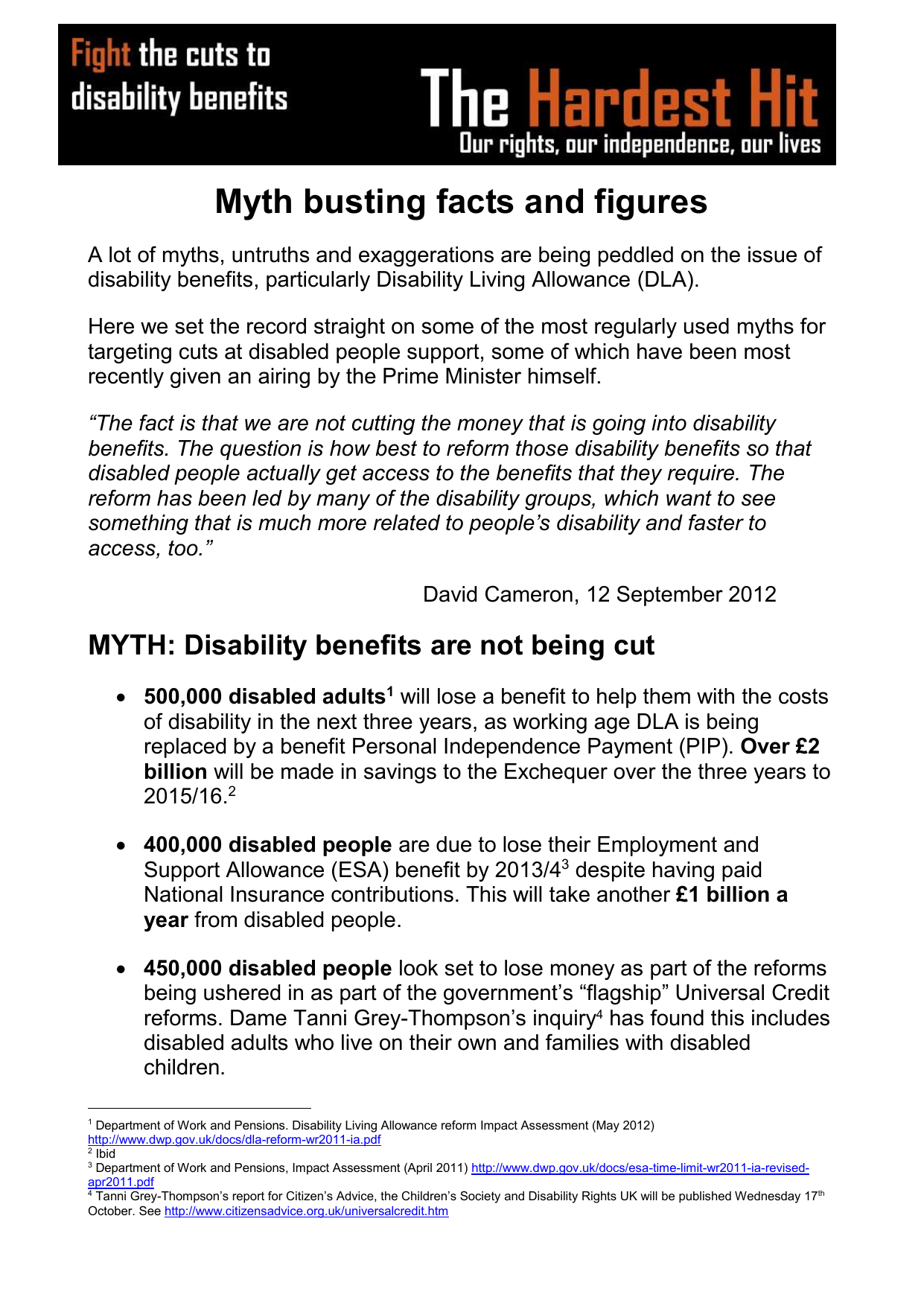 Why Are There So Many More Disabled >> The Disability Benefits Myth Buster