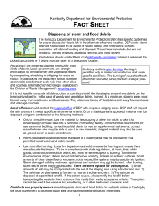 Fact Sheet - UK College of Agriculture