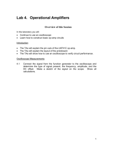 Lab 4: Operational Amplifiers (word)