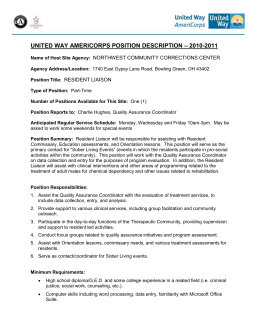 united way americorps position description