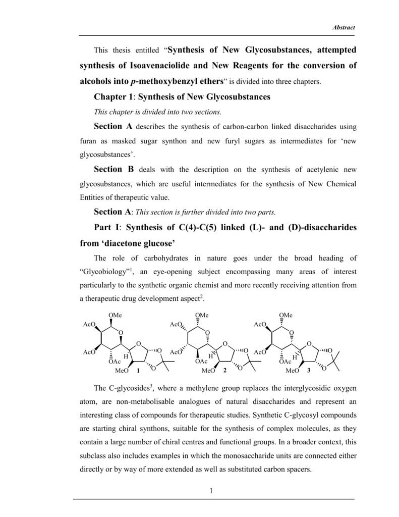 Synthesis thesis chapter 2