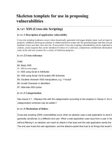 """Bypassing ASP  NET """"ValidateRequest"""" for Script Injection Attacks"""