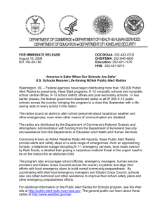 FOR IMMEDIATE RELEASE DOC/NOAA: 202-482