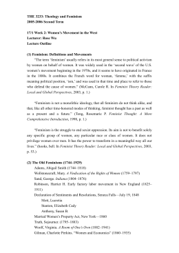 feminist literary theory writing assignment Crw 330 l literature for writers instructor: moore, l unique #: 34425 semester: fall 2016  gender, and literature concentration, to feminist theory and scholarship  writing assignments will emphasize careful close reading and formal analysis of these texts in a series of short papers all four of these papers will be revised.