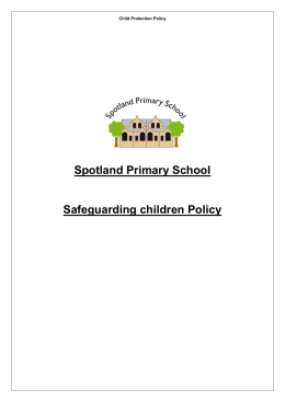 School Policy for PSHE and Citizenship