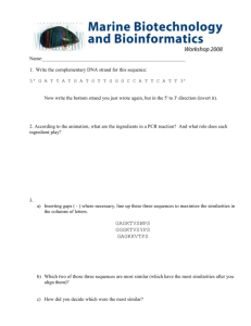 Word - Marine Biotechnology and Bioinformatics is a teacher
