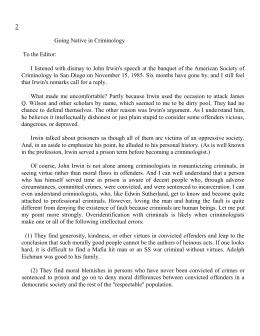 Do not bring back flogging essay