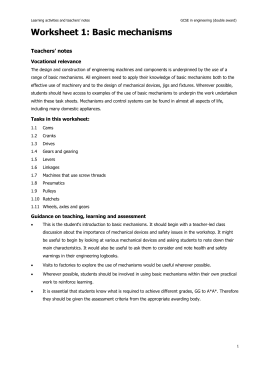 Worksheet 1 - Channel 4 Learning