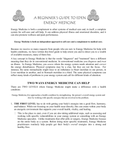 Printable  file - The Energy Medicine Institute