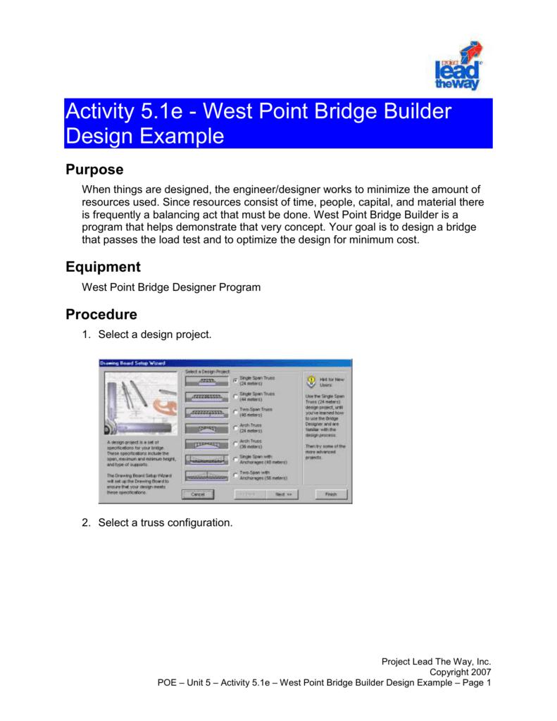 west point bridge builders