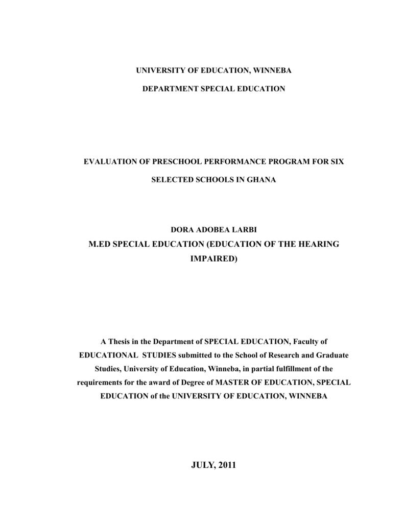 grading system for university of education winneba